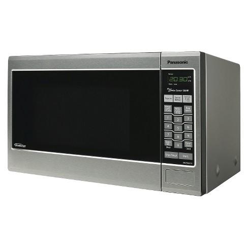 Ft 1200 Watt Microwave Oven Stainless Steel Target