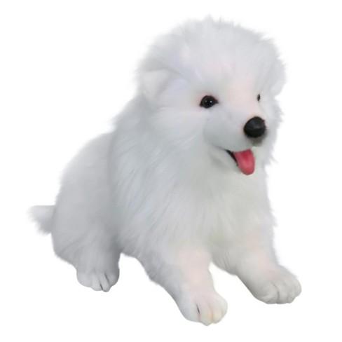 Hansa Samoyed Puppy Plush Toy Target