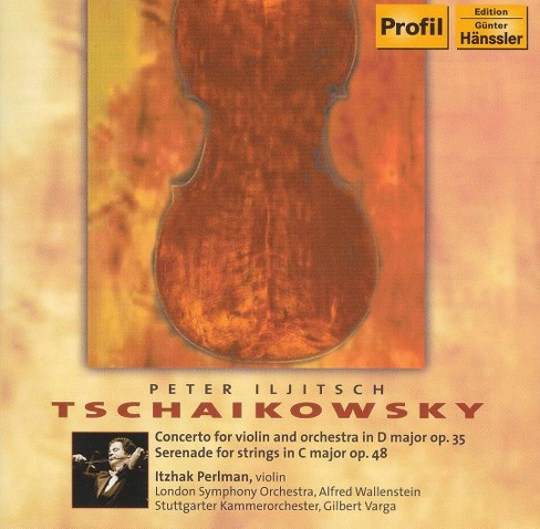 Itzhak perlman - Tschaikowsky:Cto for violin and orch (CD) - image 1 of 1