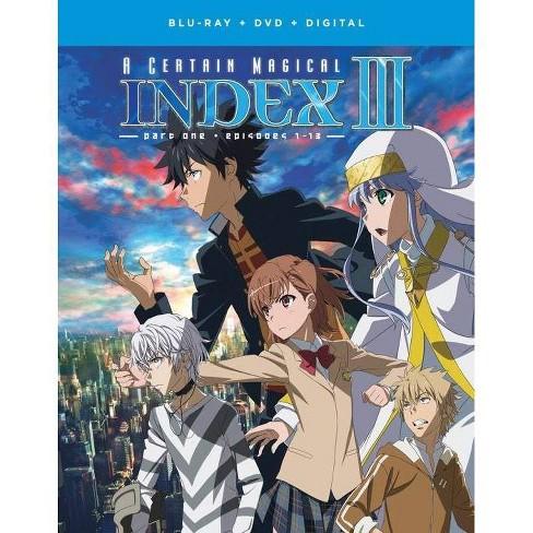 A Certain Magical Index Iii Season 3 Part 1 Blu Ray 2019 Target