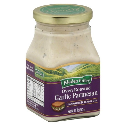 Hidden Valley® Oven Roasted Garlic Parmesan Sandwich Spread & Dip - 12oz - image 1 of 1