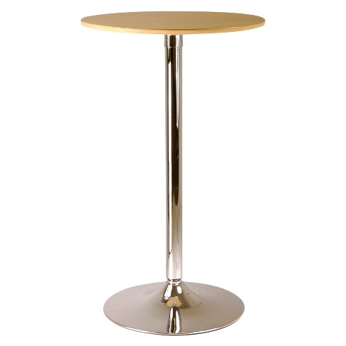 Kallie Pub Table Metal/Natural - Winsome - image 1 of 1