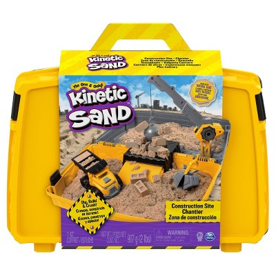 Kinetic Sand Construction Folding Sandbox