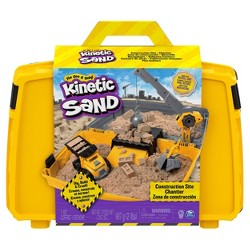 Kinetic Sand Construction Folding Sandbox