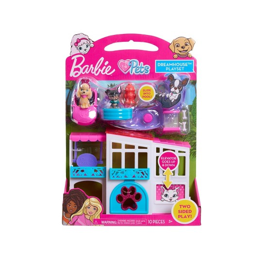 Barbie Pets Dreamhouse Playset image number null