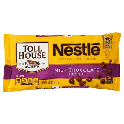 Nestle Toll House Real Milk Chocolate Chip Morsels - 12oz