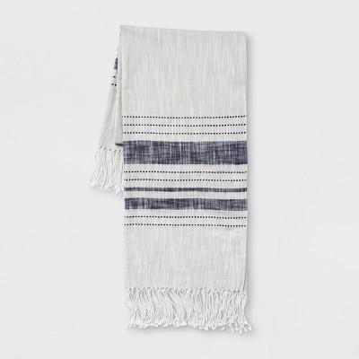 Stripe Throw Blanket - Gray/Blue - Threshold™