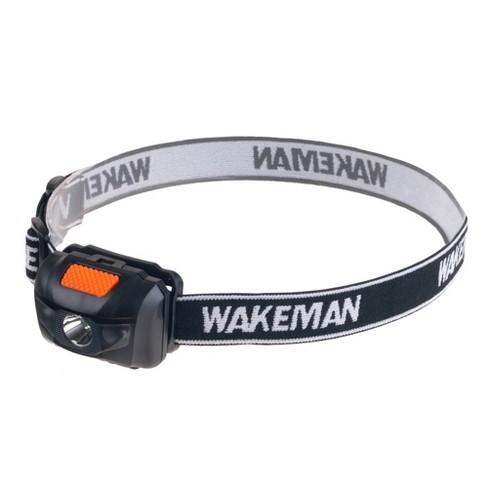 Wakeman Lightweight 4 Mode LED Headlamp with 80 Lumen - Black - image 1 of 4