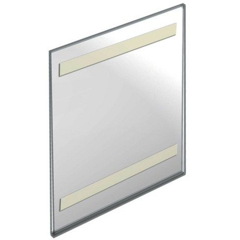 """Azar Displays 8.5"""" X 11"""" 10pk Acrylic Vertical Wall Mount Sign Holder with Adhesive Tape - image 1 of 1"""
