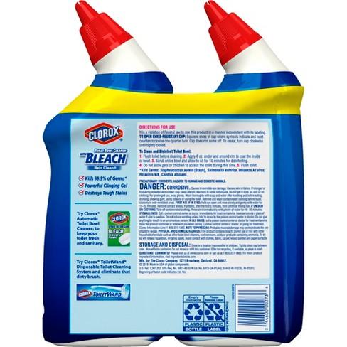 Clorox Toilet Bowl Cleaner Rain Clean 2pk 24oz Target