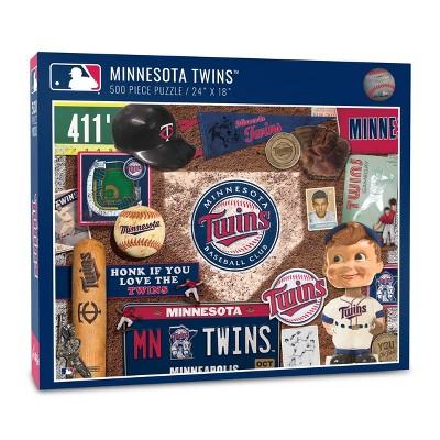 MLB Minnesota Twins 500pc Retro Series Puzzle