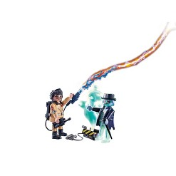 Playmobil Ghostbusters Spengler and Ghost