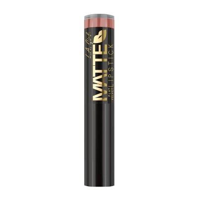 L.A. Girl Matte Flat Velvet Lipstick - 0.1oz