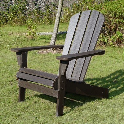 Faux Wood Adirondack Chair   Espresso   Merry Products : Target