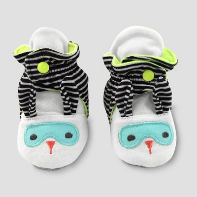 Baby's Super Bunny Bootie Wrap - Cloud Island™ White 0-3M
