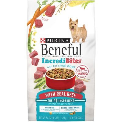 Purina® Beneful® IncrediBites With Real Beef Dry Dog Food - 3.5lbs