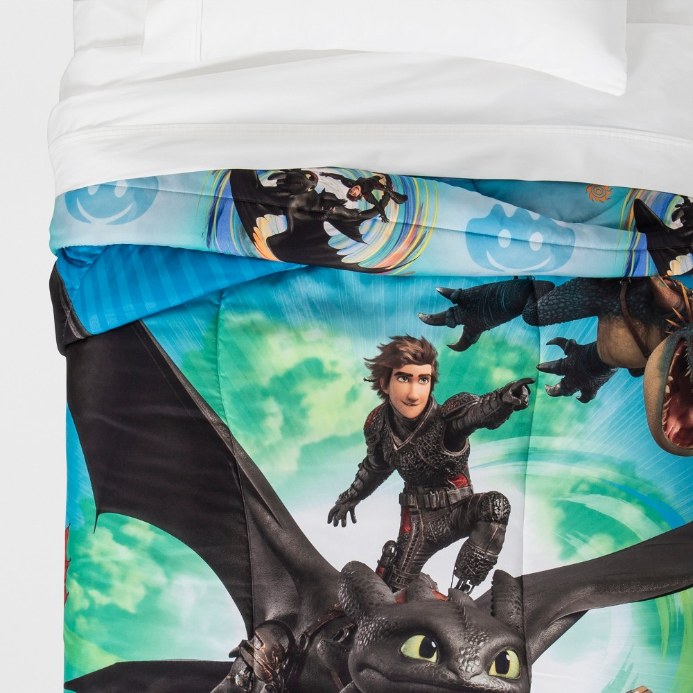 Image of How to Train your Dragon 3 Twin Comforter