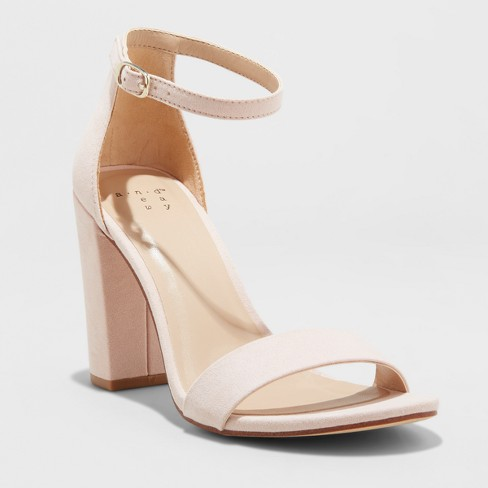 Women's Ema High Block Heel Pumps - A New Day™ - image 1 of 4