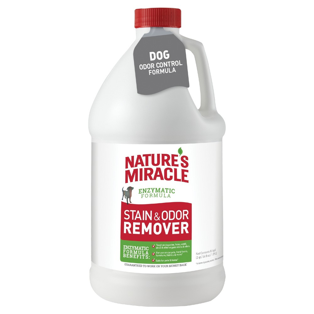 Nature's Miracle Pour Pet Stain Remover - 64 Oz