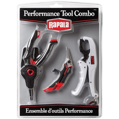 Rapala Performance Tool Combo Pack (Pliers, Scissors, Gripper)