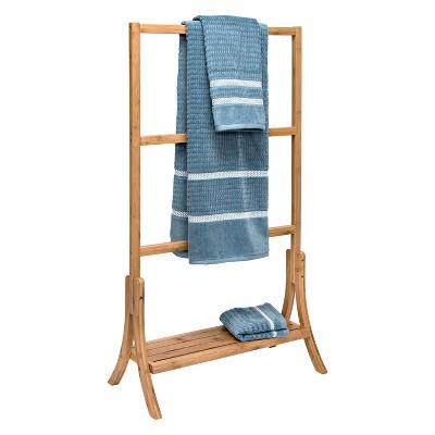 Bamboo Towel Rail Natural - Honey Can Do