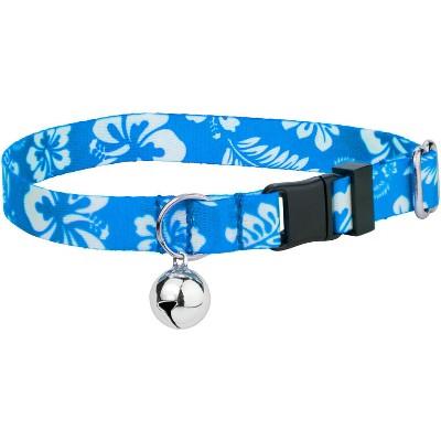 Country Brook Petz® Blue Hawaiian Cat Collar
