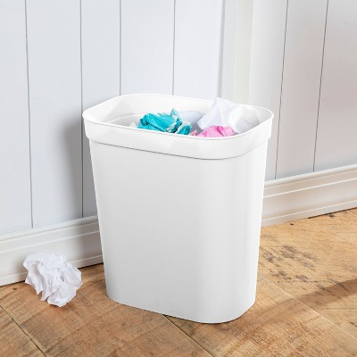 2.5gal Wastebasket White - Room Essentials™
