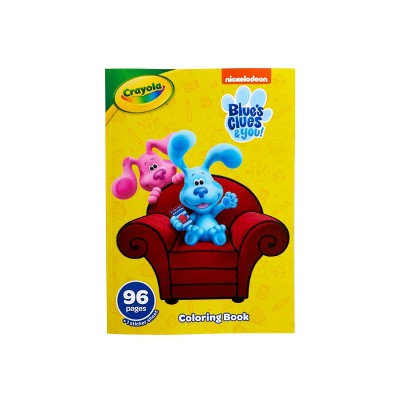 Crayola 96pg Blue's Clues & You! Coloring Book with Sticker Sheet