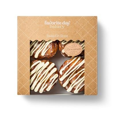 Cinnamon Rolls - 12oz/4ct - Favorite Day™