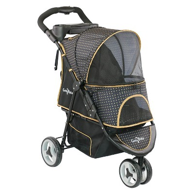 Gen7Pet Promenade Dog & Cat Stroller - 37 L x 20 W - Gold Nugget