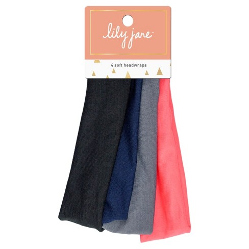 Lily Jane Soft Headwraps - 4ct - image 1 of 1