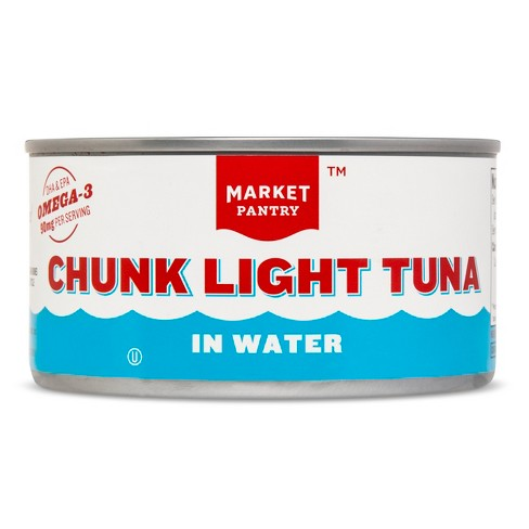 Chunk Light Tuna in Water 12 oz - Market Pantry™ - image 1 of 1