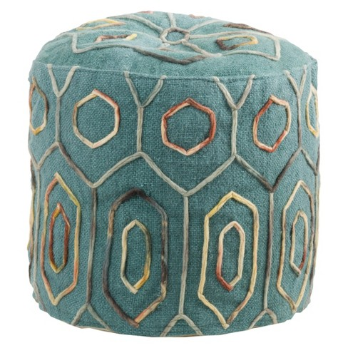 Kaia Ottoman Teal - Christopher Knight Home - image 1 of 3