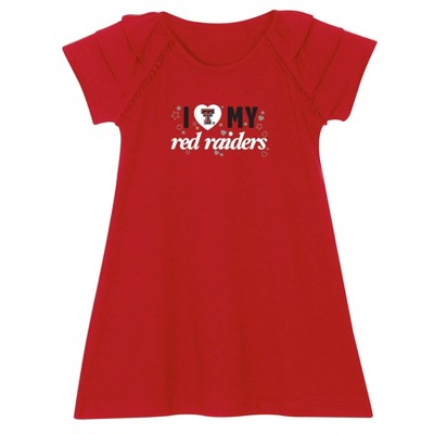 NCAA Texas Tech Red Raiders Toddler Girls' Dress