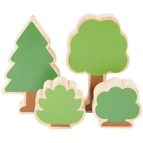 Kaplan Early Learning Nature's Accents: Trees and Bushes for Block Play - image 1 of 2