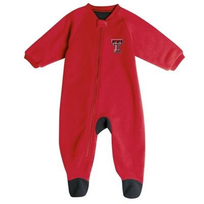 NCAA Texas Tech Red Raiders Baby Boys' Blanket Sleeper