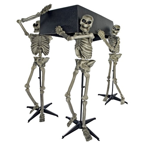 Halloween Skeleton Bearers with Coffin - image 1 of 1
