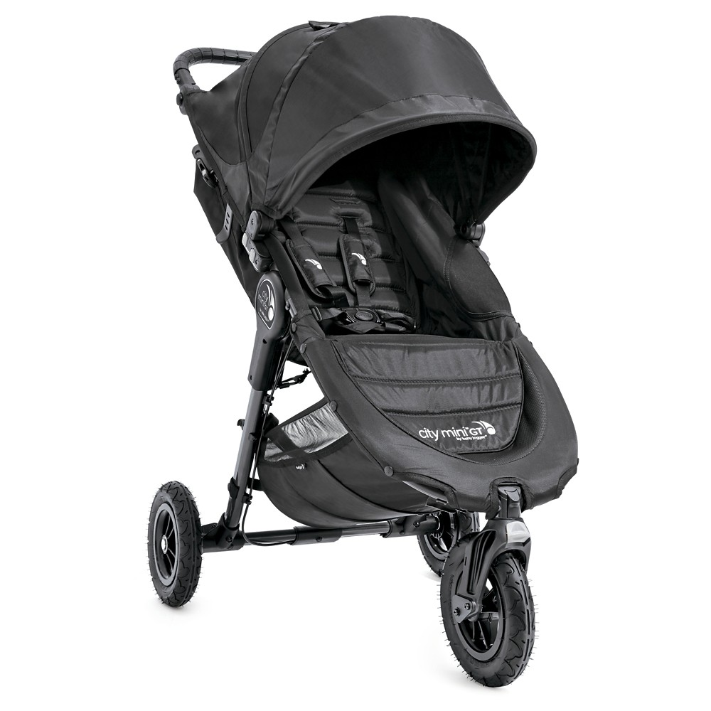 Image of Baby Jogger City Mini GT Single Stroller - Black/Black