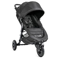 Baby Jogger City Mini GT Single Stroller - Black/Black