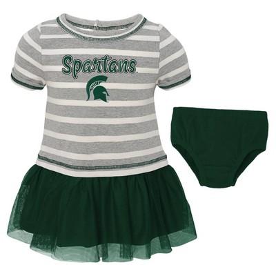 NCAA Michigan State Spartans Girls' 2pc Dress Set