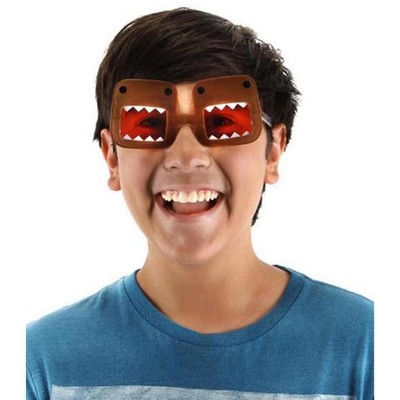 Elope Domo Costume Glasses Brown Adult