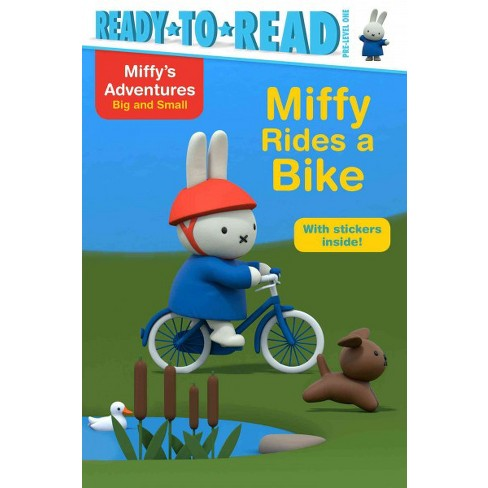 Miffy Rides a Bike - (Miffy's Adventures Big and Small) (Paperback) - image 1 of 1