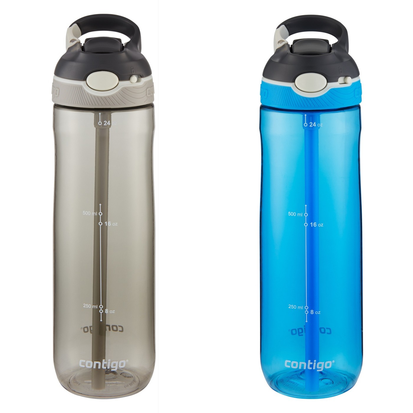 Contigo AUTOSPOUT Straw Ashland 24oz 2pk Water Bottle - image 1 of 6