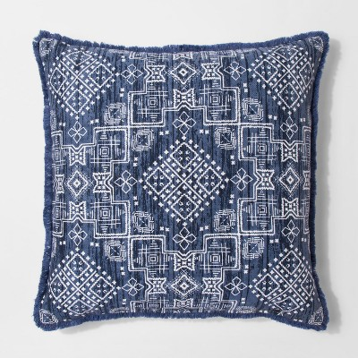 Blue Global Oversize Square Throw Pillow - Threshold™