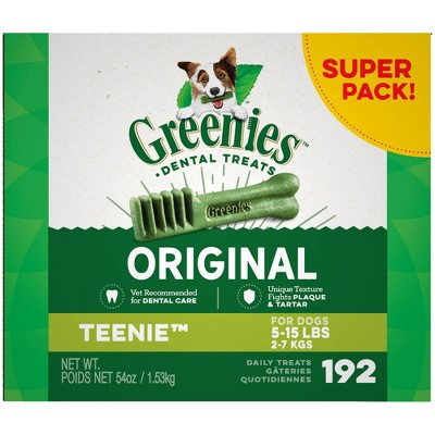 Greenies Original Natural Dental Dog Treats - 54oz