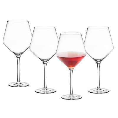 23oz 4pk Estate Red Wine Glasses - Cathy's Concepts