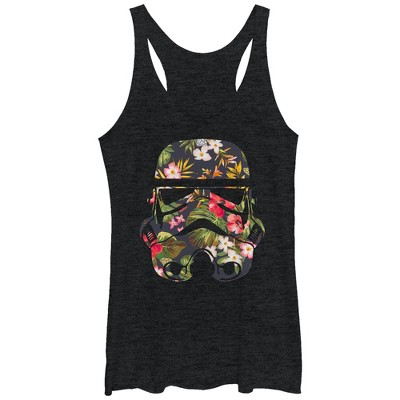 Women's Star Wars Tropical Stormtrooper Racerback Tank Top