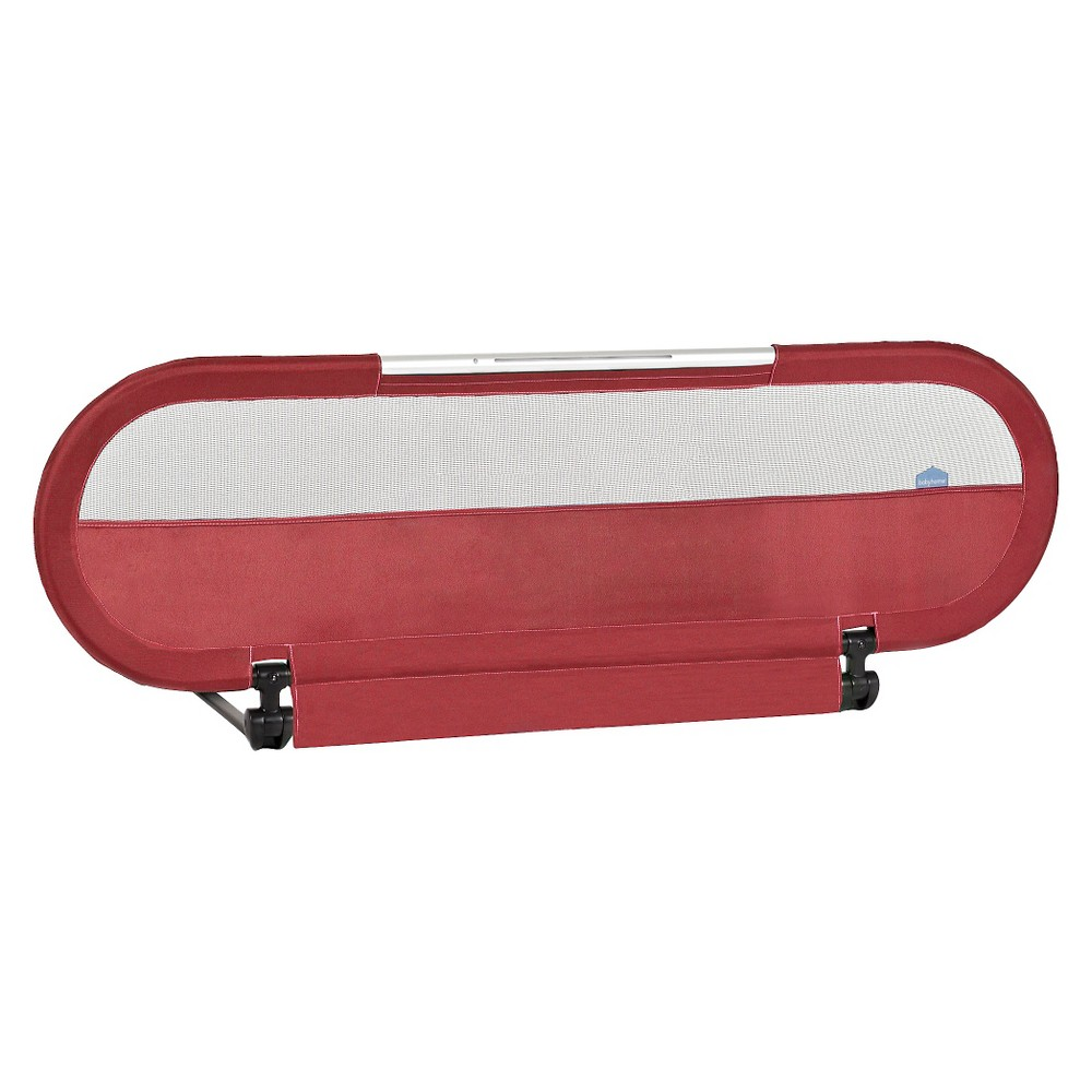 Babyhome Side Light Bed Rail - Maroon (Red)