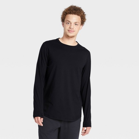 Men's Soft Gym Long Sleeve T-Shirt - All in Motion™ - image 1 of 4