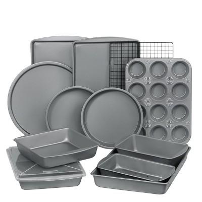 Bakeware set-bakerEze 6-Piece Non-stick Bakeware Set-Includes 6 Pc by BakerEze